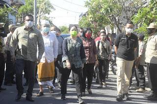 Walikota Rai Mantra Dampingi Ketua DPR-RI, Menteri Sosial dan Menteri PPPA Kunjungan ke Denpasar