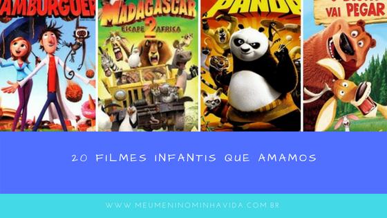 Separamos com base no nosso gosto 20 filmes infantis que amamos.