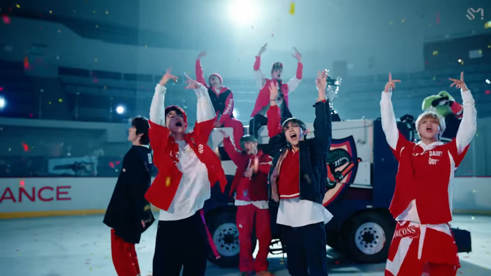 NCT U Members Become Ice Hockey Athletes in '90's Love'MV Teaser