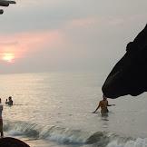 Sunset di Pantai Widuri Pemalang Bagus juga lho