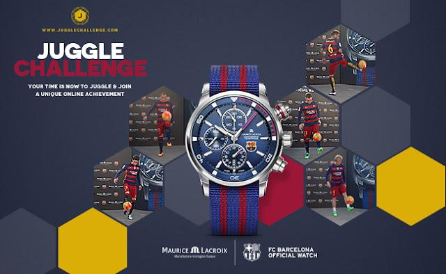 El FC Barcelona y Maurice Lacroix ponen en marcha el 'Juggle Challenge'