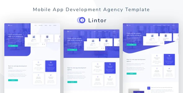 Premium App Development Agency Template