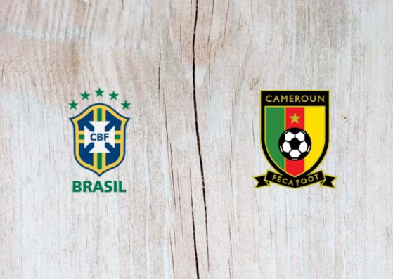 Brazil vs Cameroon Full Match & Highlights 20 November 2018