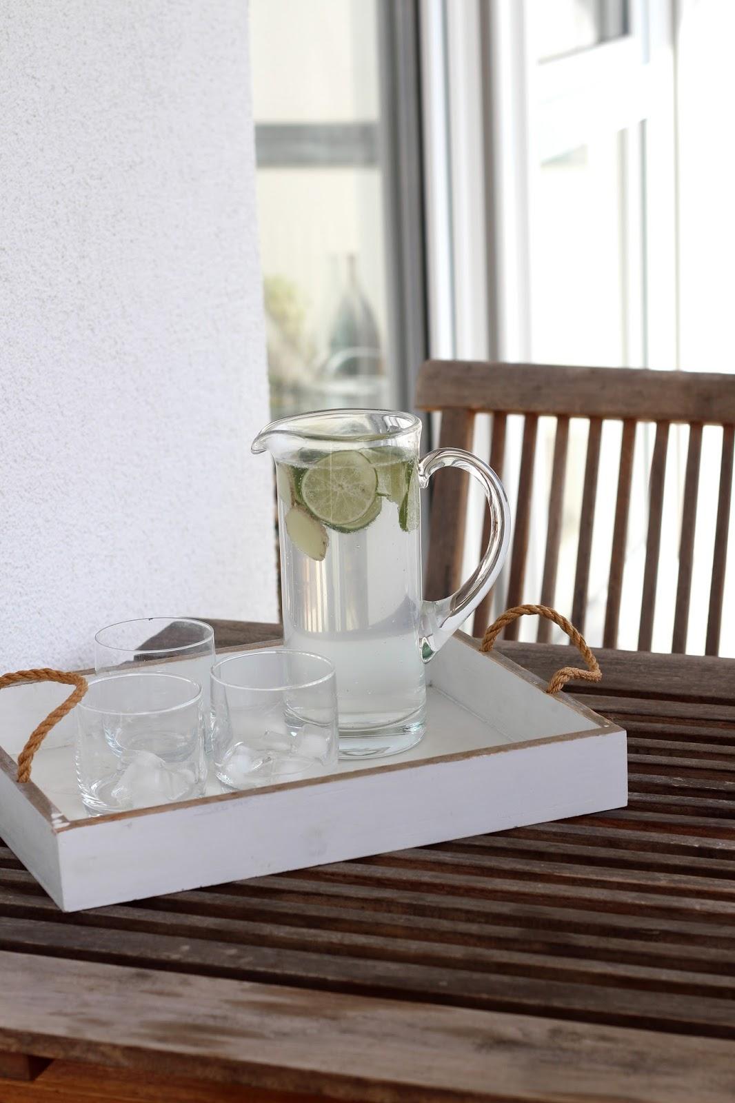 Monatlicher Rückblick: August Favoriten | Rezept für eine Limetten-Ingwer-Limonade | www.sparklyinspiration.com
