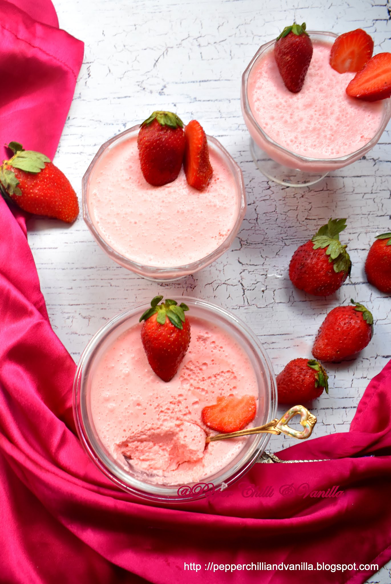 how to make strawberry mousse pudding,strawberry jello pudding