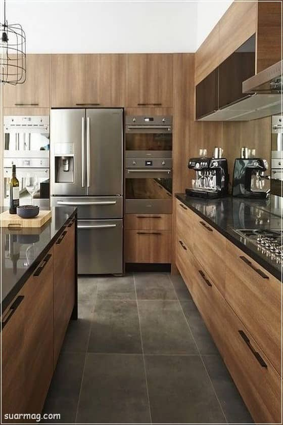 صور مطابخ - مطابخ خشب 2   Kitchen photos - Wood kitchens 2