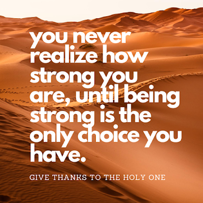 Give Thanks To The Holy One Inspirational Quote September 2 2020