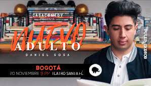 NUEVO ADULTO por Daniel Sosa en Bogotá