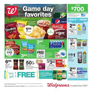 ⭐ Walgreens Ad 1/26/20 ⭐ Walgreens Weekly Ad January 26 2020
