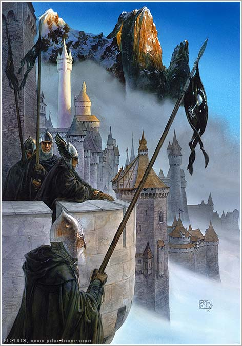 John Howe -- The Return of the King Cover Art
