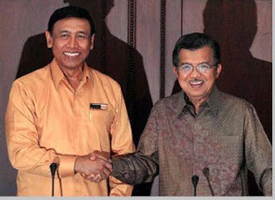 Wiranto mencalonkan diri menjadi presiden dan wakil presiden - berbagaireviews.com
