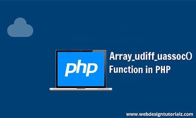 PHP array_udiff_uassoc() Function