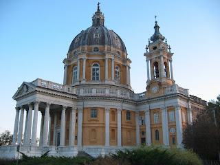 The Basilica di Superga, near Turin