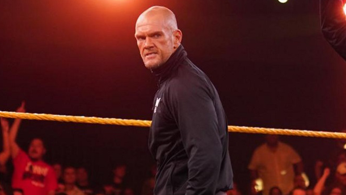 Danny Burch retorna durante o WWE NXT