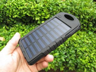 powerbank solar cell (powerbank tenaga surya)