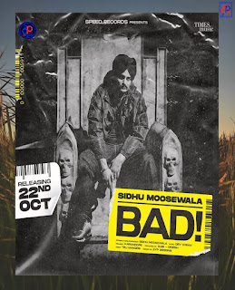 Bad by Sidu Moose Wala Mp3 Download - DjPunjab
