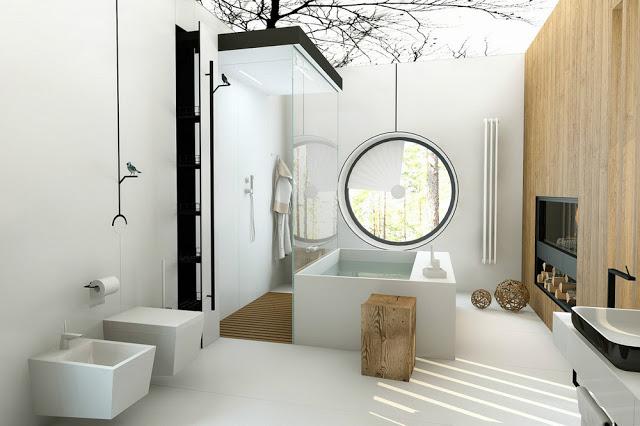 Coisas giras A minha casa de banho de sonho