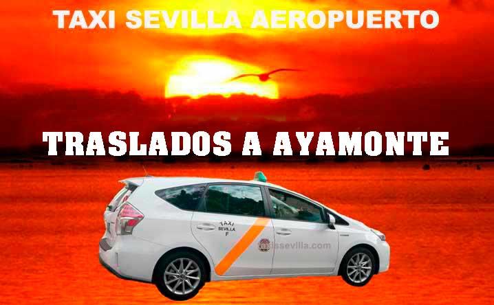 ¿Cuánto cuesta un taxi de Sevilla a Ayamonte?