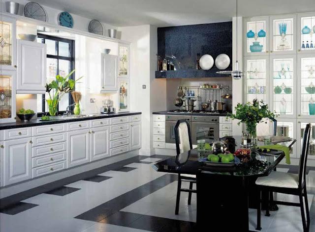 Dapur Klasik Modern