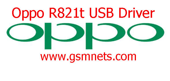 Oppo R821t USB Driver Download