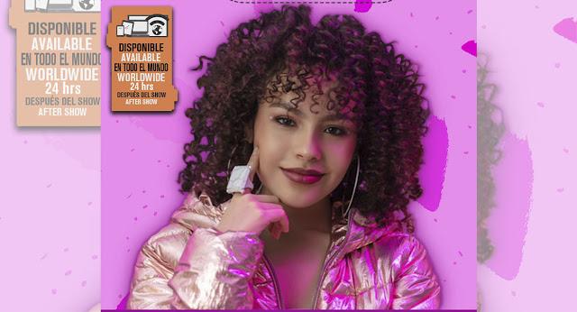 Nicole Gatti, la cantante surgida en la Academia Kids, presentará un show vía streaming