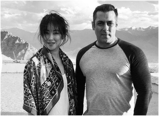 Revealed: The First Look Of Salman Khan's Tubelight Actress !