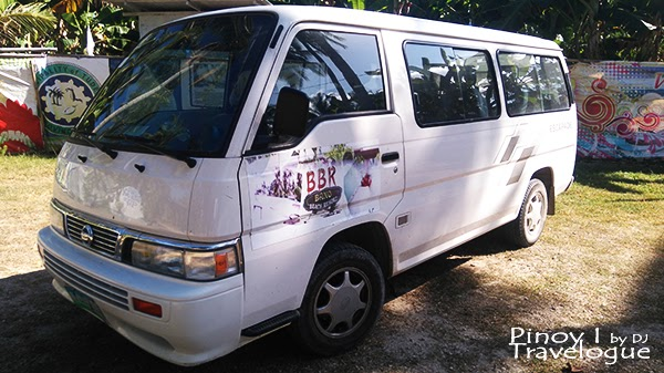 Bano Beach Resort's shuttle service