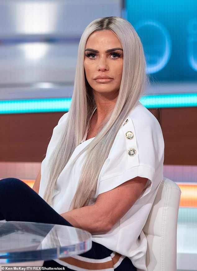 Katie Price's firm is struck off by government officials amid £22,000 debt