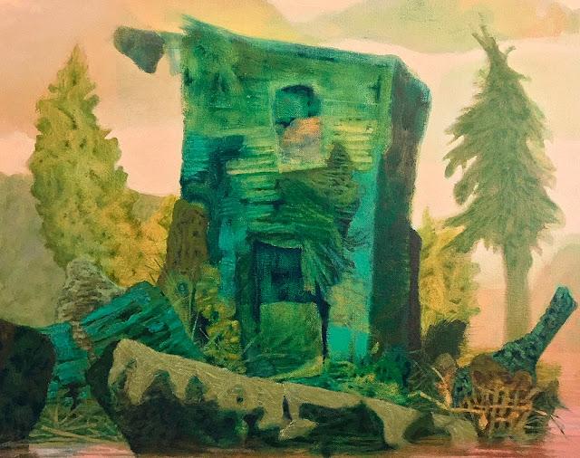 Monongahela, Oil on Linen, 16 in x 20 in, 2019