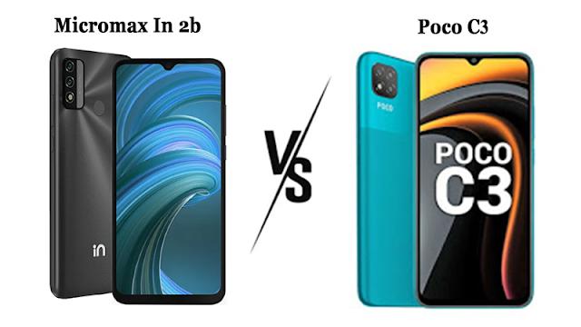 Micromax In 2b Vs Poco C3