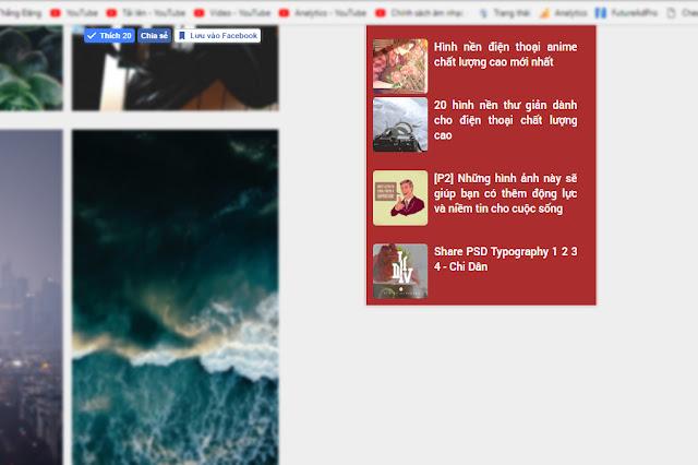 Giữ cố định tiện ích khi kéo trang cho blogger/blogspot vanthangit