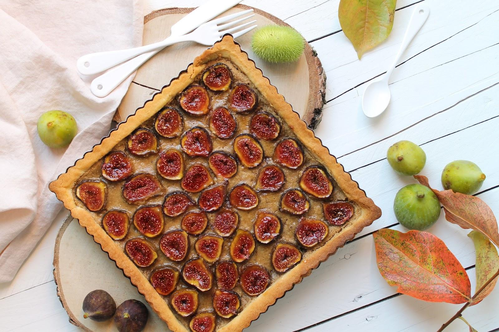 L 39 all e des desserts tarte la figue p te sabl breton cr me d 39 amandes miel - Fond de tarte palet breton ...