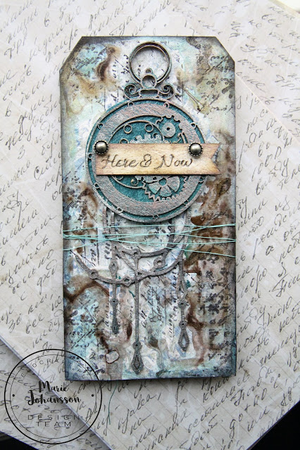 """Steampunk Tag """"Here & Now"""""""