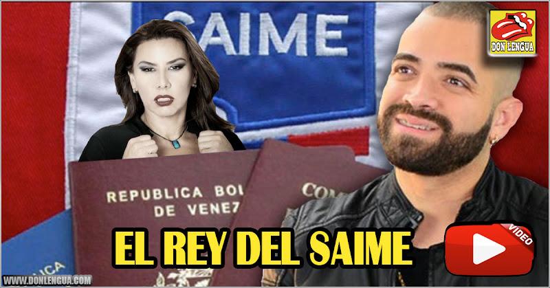 Nacho se convierte en El Rey del Saime tras conseguirle pasaporte a Vanessa Senior