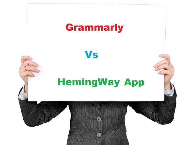Grammarly VS Hemingway