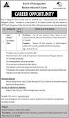 Board of Management Multan Industrial Estate Manager Jobs
