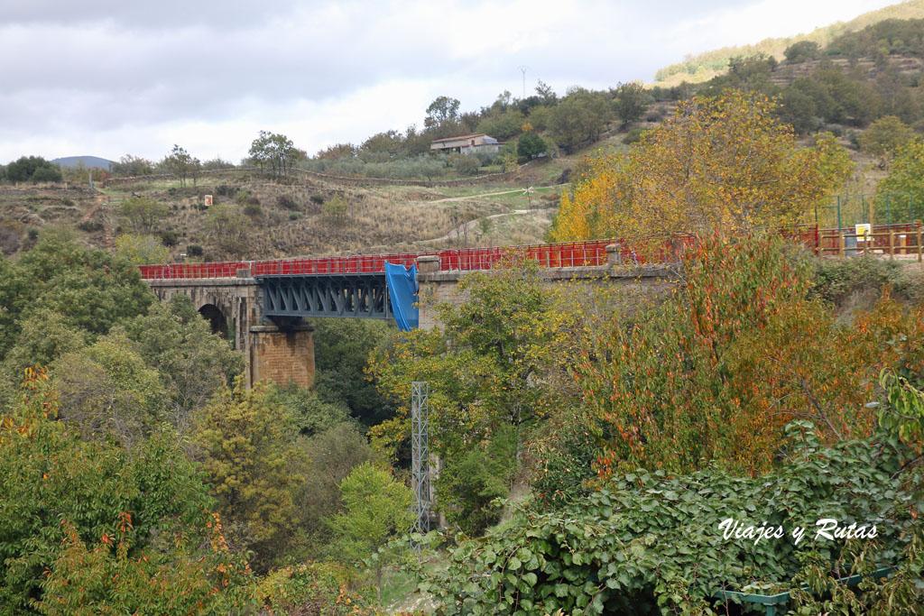 Puente de Hierro de Hervás