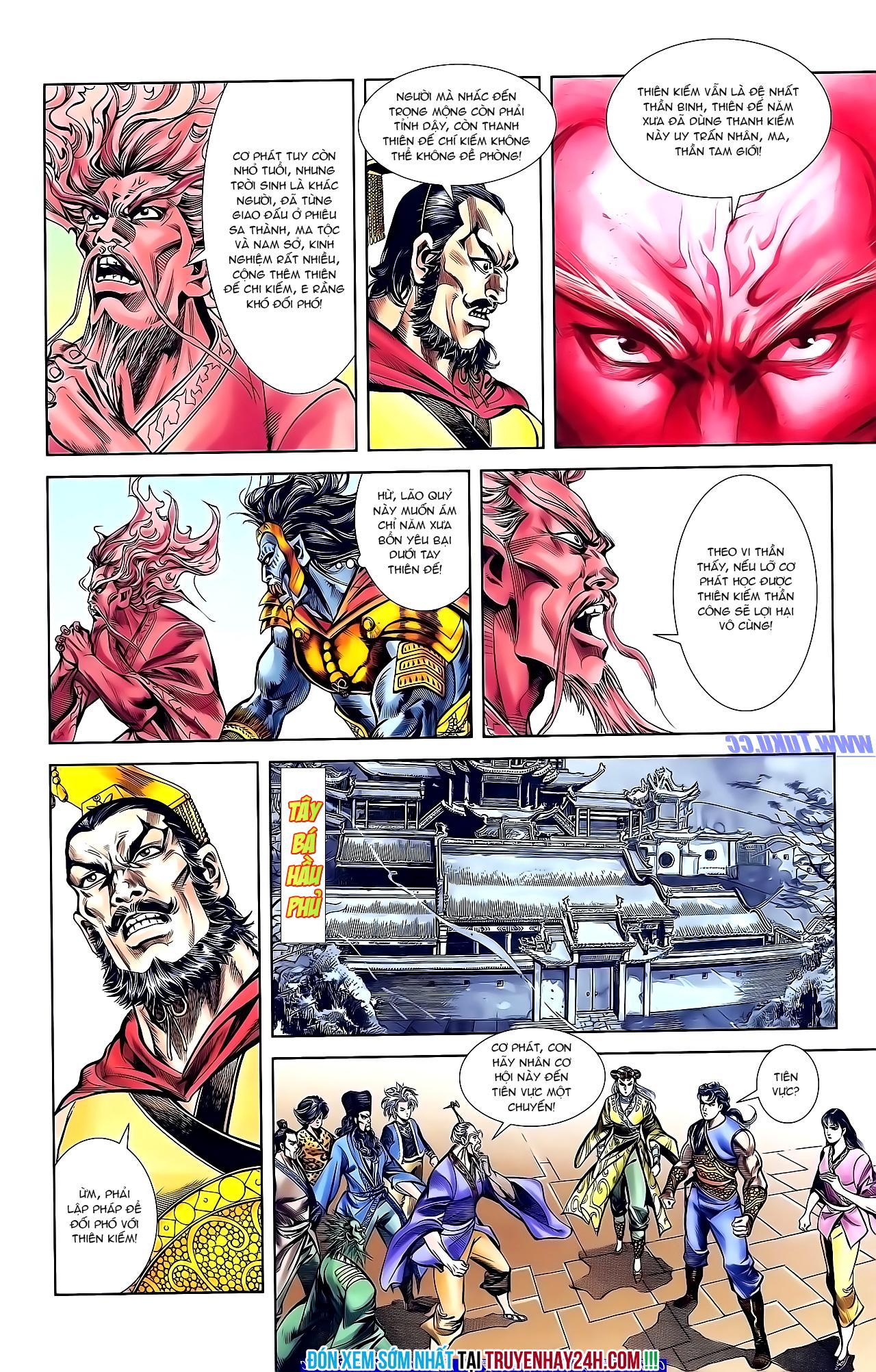 Cơ Phát Khai Chu Bản chapter 152 trang 30
