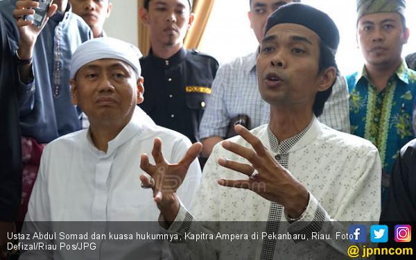 Ustaz Abdul Somad Dilarang Ceramah, Kapitra Ampera Marah