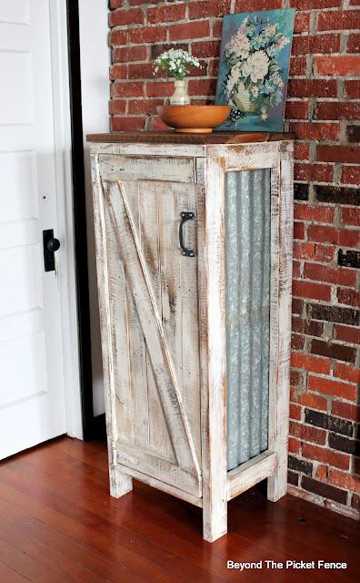 Rustic Farmhouse Jelly Cupboard