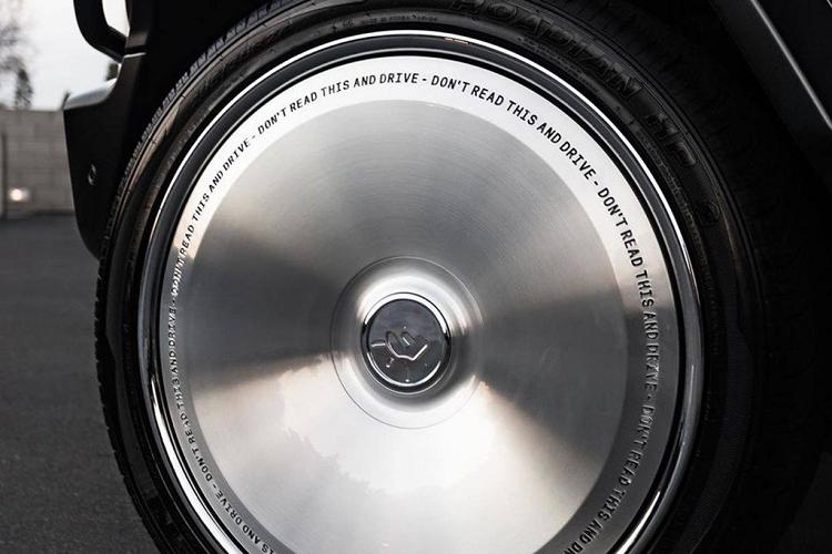 Ngắm 'ông vua địa hình' Mercedes-Benz G-Wagon độ mâm siêu độc