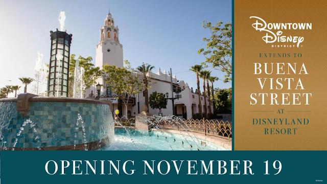 Buena-Vista-Street-DCA-Reopen-on-Nov-19-2020, Disney California Adventure, Disneyland Resort
