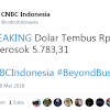 Rupiah Makin Terperosok, Tembus Rp 14.150/USD, Warganet: Terimakasih Pak Jokowi