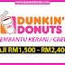 Terkini! Ratusan Jawatan Pembantu Kerani / Crew Dunkin' Donuts Malaysia!