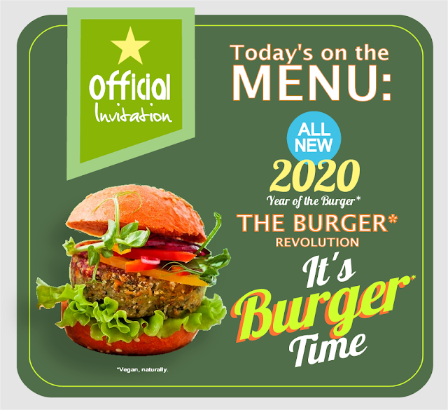 BIOVEGAN PORTUGAL ® 2020 YEAR OF THE BURGER AND THE BURGER REVOLUTION