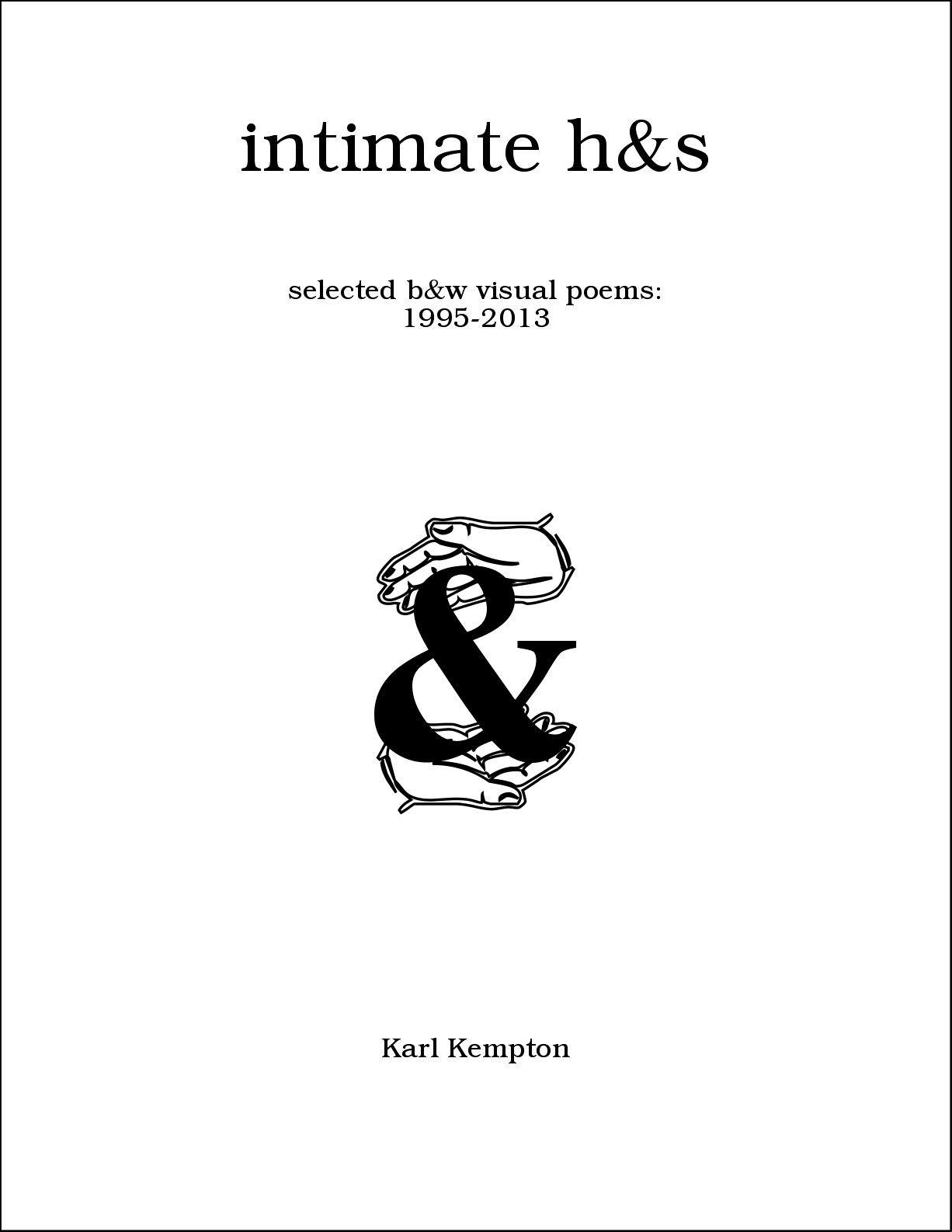 Intimate Hands by Karl Kempton | November 2021!