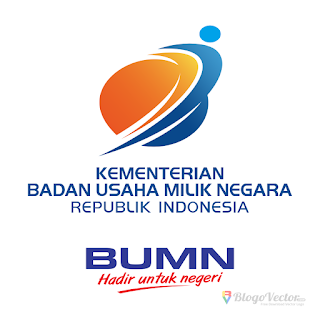 Kementerian BUMN RI Logo vector (.cdr)