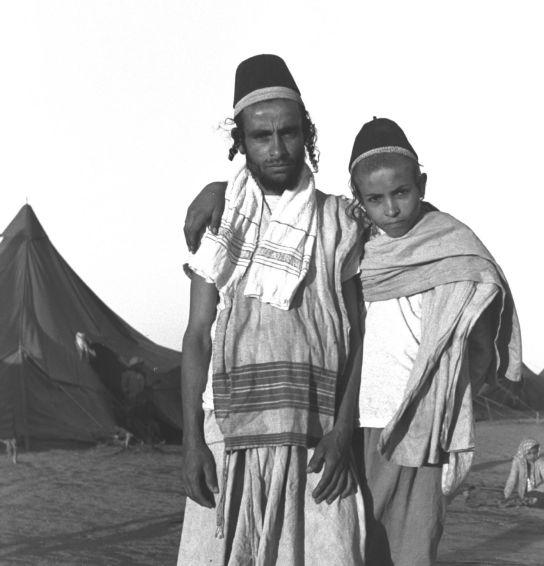 """זוג יהודים בעדן, תימן, 1949 דוד אלדן / לע""""מ"""