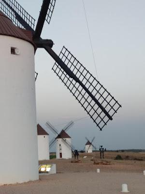 Molinos de viento (Mota del Cuervo)