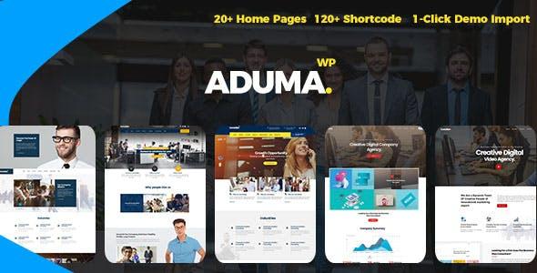 Aduma v1.2 - Consulting, Finance, Business WordPress Theme